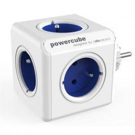 Powercube Original, 5x zásuvka bílá/modrá