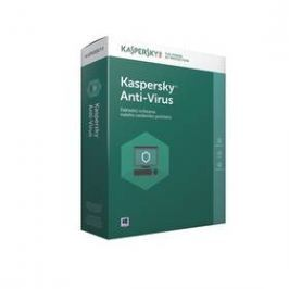 Kaspersky Anti-Virus 2017 / 1 zařízení na 1 rok + 3 měsíce navíc zdarma (KL1171OBABS-CZ)