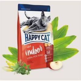 HAPPY CAT ADULT INDOOR Voralpen-Rind / Alpské hovězí 4 kg