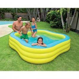 Intex Beach Wave Swim Center (57495NP) modrá barva/žlutá barva