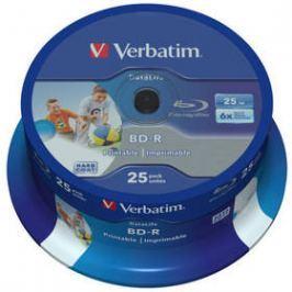 Verbatim BD-R 25GB, 6x, 25-cake (43811)