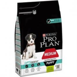 Purina Pro Plan MEDIUM PUPPY Sensitive Digestion Jehně 3 kg