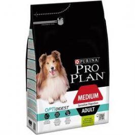 Purina Pro Plan MEDIUM ADULT Sensitive Digestion Jehně 3 kg