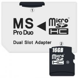 Connect IT CI-1138, MS Pro Duo - 2x MicroSDHC (CI-1138)