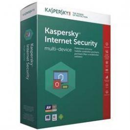 Kaspersky Internet Security multi-device 2017 CZ, 1 zařízení, 1 rok, nová licence, box + 3 měsíce navíc zdarma (KL1941OBABS-7CZ)