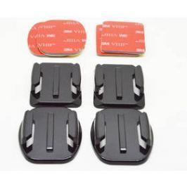 Niceboy 2 rovné, 2 zaoblené + 3M nálepky (N10) černá