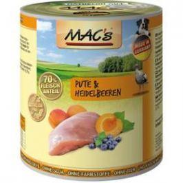 MACs Dog Krůta a borůvka 800g