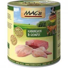 MACs Dog Králík a zelenina 800g