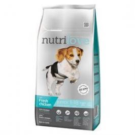 Nutrilove Dog dry Junior S-M fresh chicken 8kg