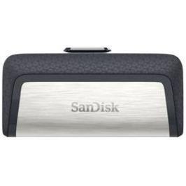 Sandisk Ultra Dual 16GB OTG USB-C/USB 3.1 (SDDDC2-016G-G46) černý/stříbrný