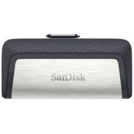 Sandisk Ultra Dual 32GB OTG USB-C/USB 3.1 (SDDDC2-032G-G46) černý/stříbrný
