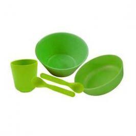 Pacific Baby bambusové nádobí zelená
