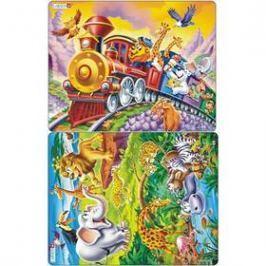 Larsen Cirkusový vlak, Safari 2ks