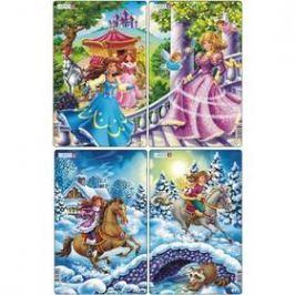 Larsen Princezny, Dívky na koni ve sněhu 2ks