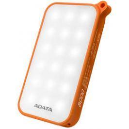 ADATA D8000L 8000mAh, outdoor LED svítilna (AD8000L-5V-COR) oranžová