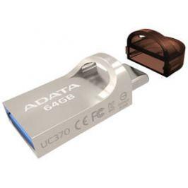 ADATA UC370 64GB OTG USB-C/USB 3.1 (AUC370-64G-RGD) zlatý