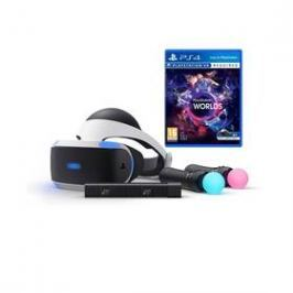 Sony PlayStation VR + Kamera + MOVE Twin Pack + VR WORLDS (PS719880561)