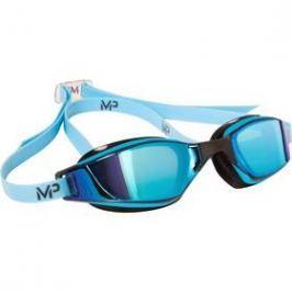 Michael Phelps Aqua Sphere Xceed blue titanium mirrored černé/modré
