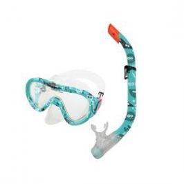 Spokey TAHITI JUNIOR brýle + šnorchl modrý vodní svět