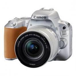 Canon EOS 200D + 18-55 IS STM (2256C001) stříbrný