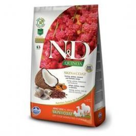 N&D Grain Free Quinoa DOG Skin&Coat Herring & Coconut 7 kg