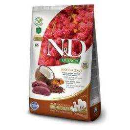 N&D Grain Free Quinoa DOG Skin&Coat Venison & Coconut 7 kg