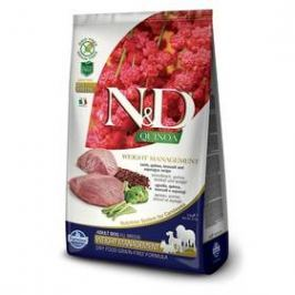 N&D Grain Free Quinoa DOG Weight Mngmnt Lamb & Broccoli 7 kg
