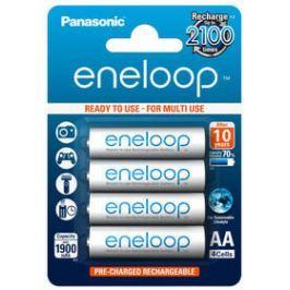 Panasonic Eneloop AA, 1900mAh, 4 ks (BK-3MCCE/4BE) bílá