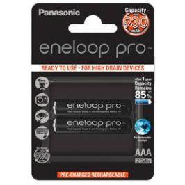 Panasonic Eneloop Pro AAA, 930mAh, 2ks (BK-4HCDE/2BE) černá