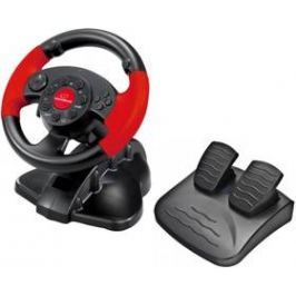 Esperanza EG103 High Octane pro PC, PS1, PS2, PS3 + pedály (EG103) černý/červený
