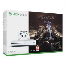Microsoft Xbox One S 500 GB + Middle-earth: Shadow of War (ZQ9-00165)