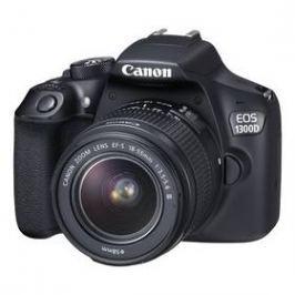 Canon EOS 1300D 18-55 DC + 75-300 DC (1160C049AA) černý