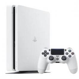 Sony PlayStation 4 SLIM 500GB (PS719894162) bílá
