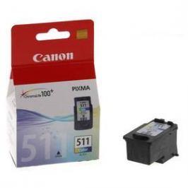 Canon CL-511C, 240 stran - originální (2972B001) červená/modrá/žlutá