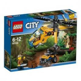 LEGO® CITY® Jungle Explorers 60158 Nákladní helikoptéra do džungle