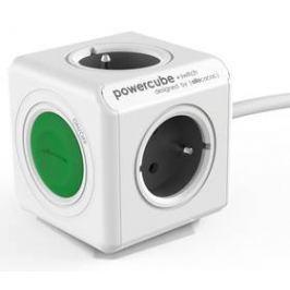 Powercube Extended Switch, 4x zásuvka, 1,5m (8719186004253) šedý/bílý/zelený