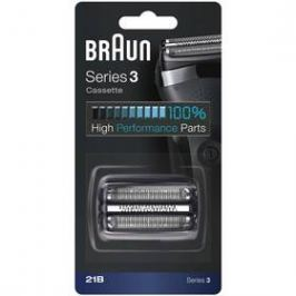 Braun Series 3 21B černé/stříbrné