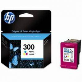 HP No. 300, 4 ml, 165 stran - originální (CC643EE) červená/modrá/žlutá