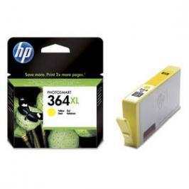 HP No. 364XL, 750 stran - originální (CB325EE) žlutá Inkoustové náplně
