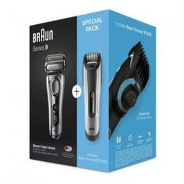 Braun 9260s Wet&Dry + BT5090 černý/stříbrný