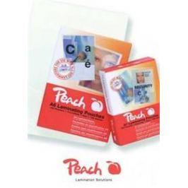 Peach na kreditní karty (54x86mm), 125mic, 100pck/BAL (PP525-07) průhledná