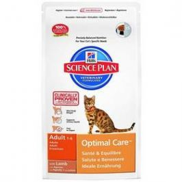Hill's Feline Adult Lamb & Rice, 2 kg