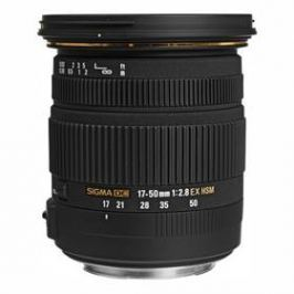 Sigma 17-50mm/2.8 EX DC OS HSM Canon černý