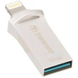Transcend JetDrive Go 500 32GB (TS32GJDG500S) stříbrný