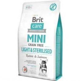 Brit Care Dog Mini Grain Free Light & Sterilised 7 kg