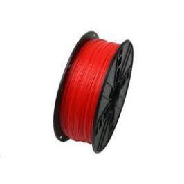 Tisková struna (filament) Gembird , ABS, 1,75mm, 1kg, fluorescentní červená