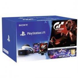 Sony PlayStation VR + Kamera + VR WORLDS (PSN voucher) + Gran Turismo (PS719979661)