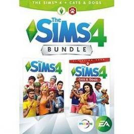 EA PC THE SIMS 4 + CATS & DOGS  CZ/SK Bundle (5030944122747)