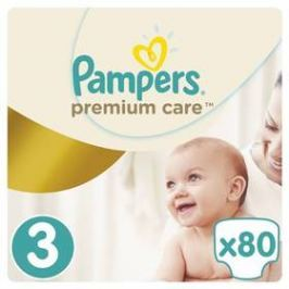 Pampers Premium Care 3 MIDI 80ks
