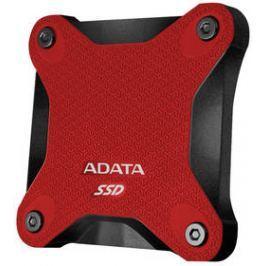 ADATA SD600 256GB (ASD600-256GU31-CRD) červený